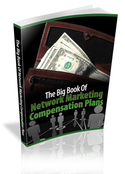 Product picture MLM Network Marketing Compensation Plans - MRR